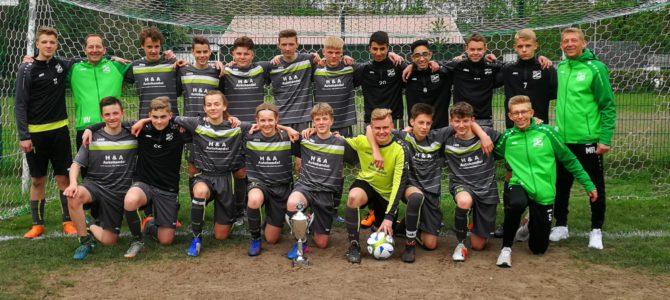 Pokalverteidigung für U15 I ist geglückt – 2:1 im Finale gegen JSG WNK