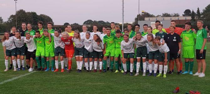 U16 I mit gelungenes Testspiel gegen die U17 Juniorinnen des SV Werder